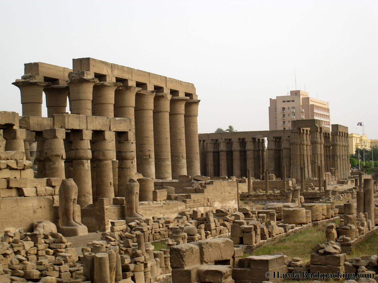 Luxor Temple - HawkeBackpacking.com | 1320 x 990 jpeg 397kB