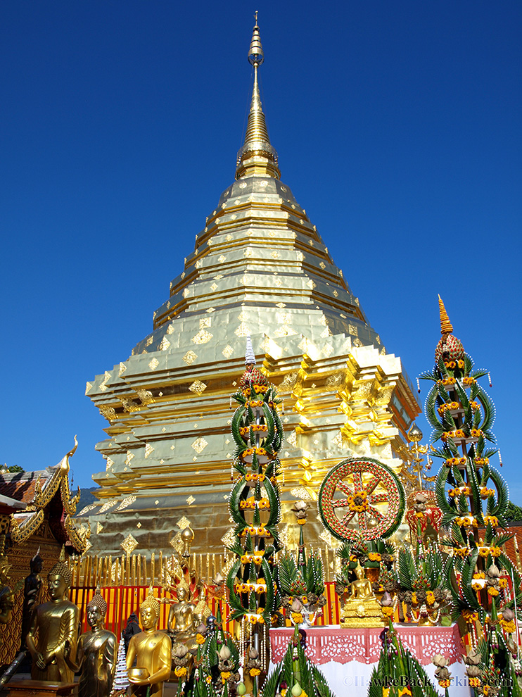 Wat Phrathat Doi Suthep Hawkebackpacking Com