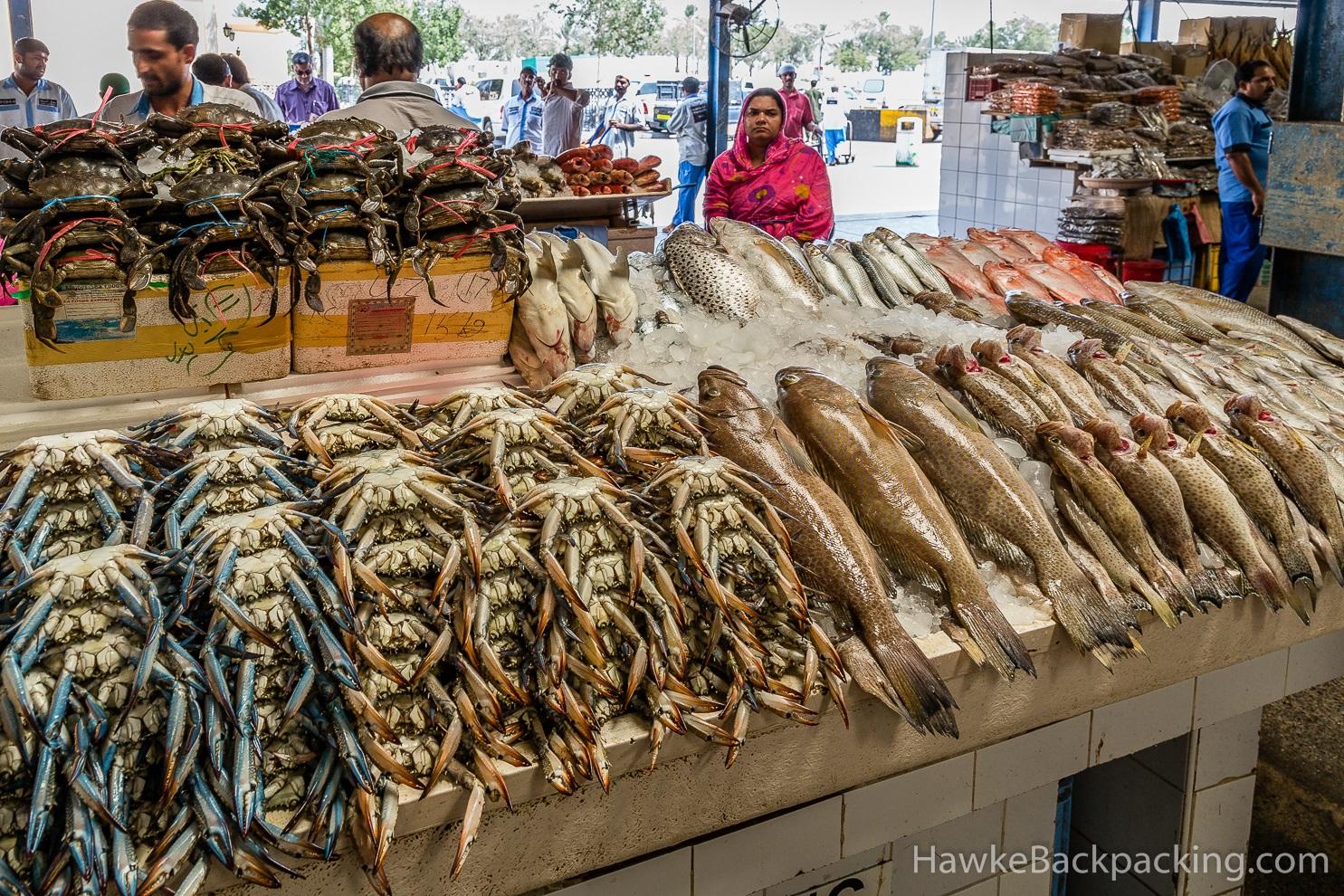 Deira fish market for Fishing in dubai