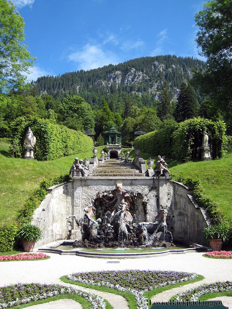 German Mountain Castle