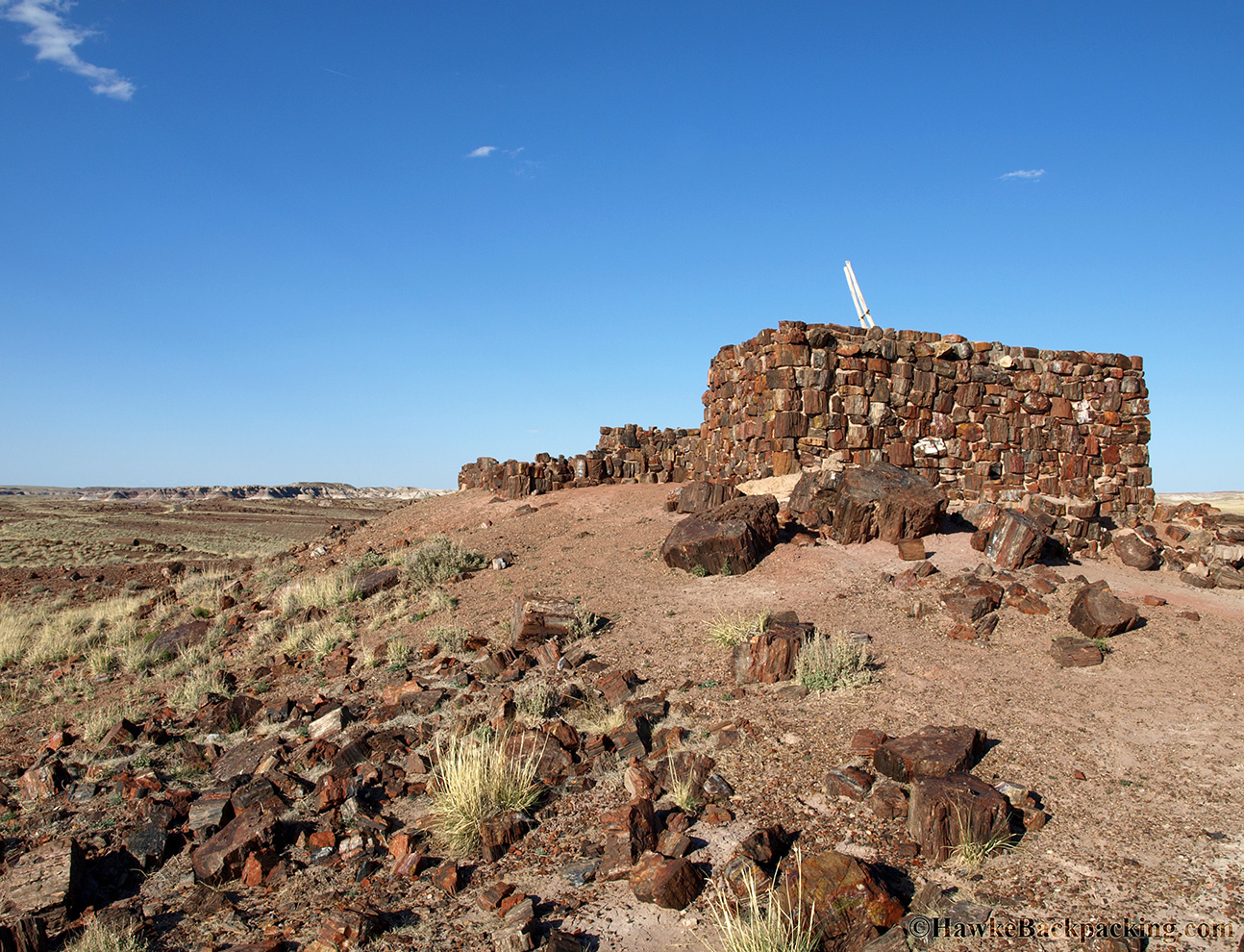 Petrified Forest National Park Hawkebackpacking Com