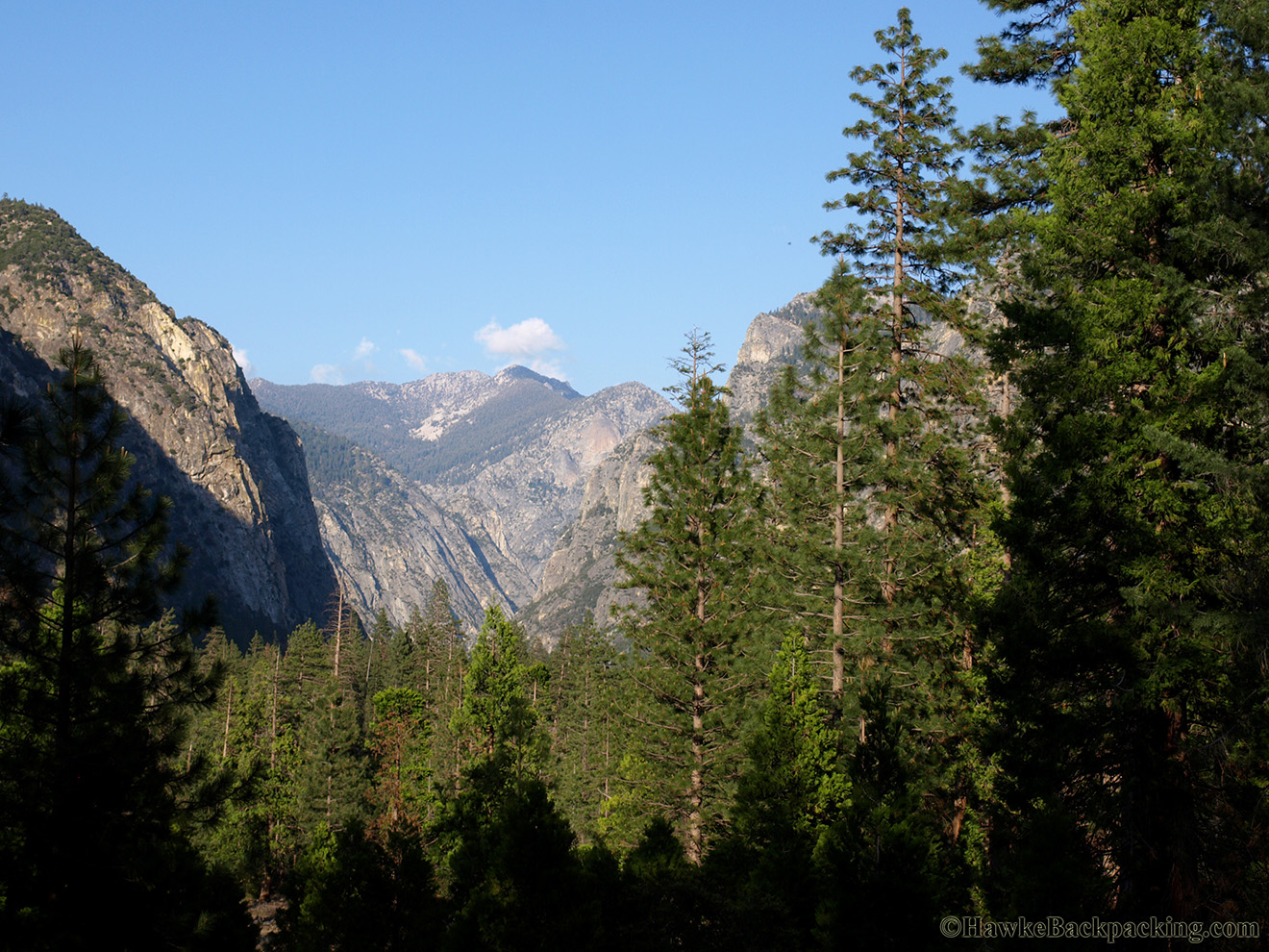 Kings Canyon National Park Hawkebackpacking Com
