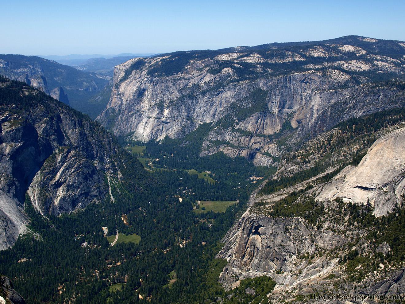 Half Dome Hike Yosemite National Park Hawkebackpacking Com