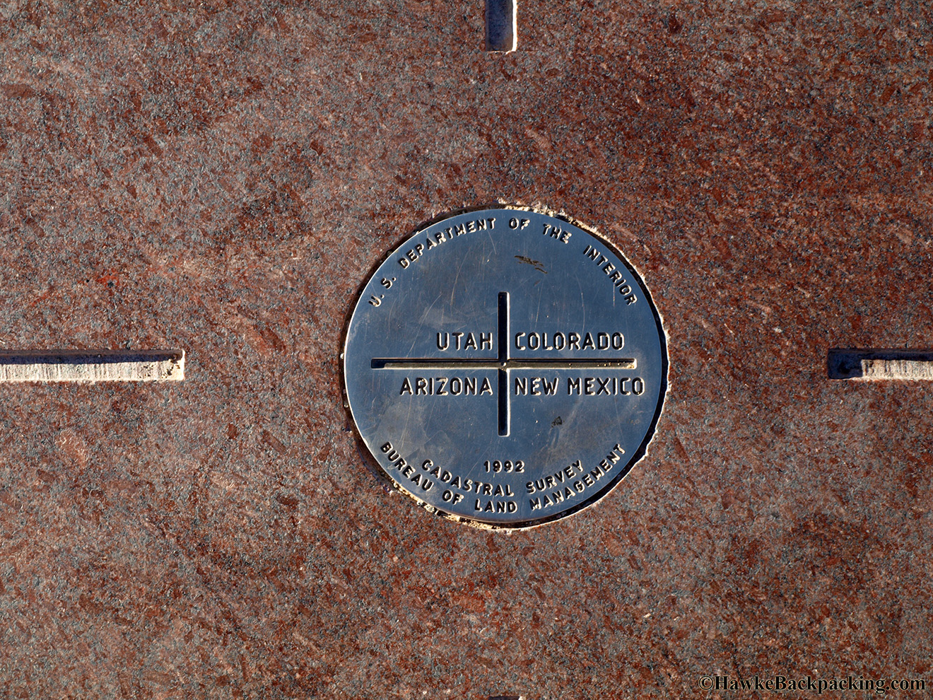 Four Corners Monument - HawkeBackpacking.com